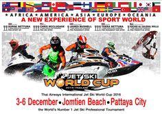 Pattaya – King's Cup – Jetski World Cup 2016 – du 3 au 6 décembre