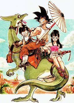 jinzuhikari:  Dragon Ball Doujinshi arttwork title [FUKU] By Yan Furimori p.33/ 1992.9.29