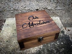 Memory box- Gift for them - Gift for her - Gift for men- Keepsake box - Groomsmen gift - Anniversary gift for him - Wedding gift - by YouandIcollection on Etsy https://www.etsy.com/listing/510410061/memory-box-gift-for-them-gift-for-her