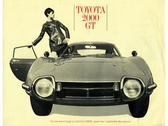 Visit our website for a historical overview of the legendary Toyota sports car. We have videos and pictures to inform and entertain you about this amazing automobile. Toyota 2000gt, Toyota Corolla, Corolla Hatchback, Automobile, Auto Retro, Toyota Cars, Transporter, Car Advertising, E Type