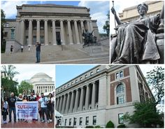 Visiting Columbia University. By far the best and most informative University visit so far.