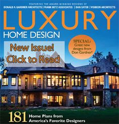 Unique homes cover luxury inspiration magazine press custom a home plan portfolio digital edition malvernweather Gallery
