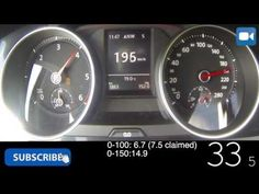 Golf 7 GTD 0-180 km/h