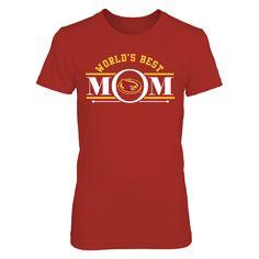 brand new e224a 85ae4 Iowa State Cyclones - World s Best Mom T-Shirt, Iowa State Cyclones  Official Apparel