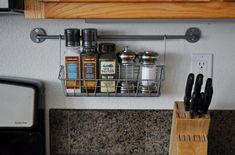 DIY Kitchen Storage and Easy How To Hanging Technique | The Design Confidential