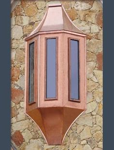 COPPER BAY WINDOW AWNING