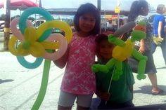 Happy Customers for Balloon Twisting Art