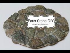 Faux stones