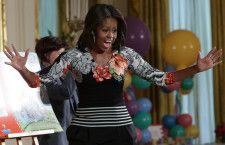 First+Lady+Michelle+Obama+February+2015