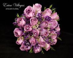 En tonos morados de Erica Villegas Atelier Floral | Foto 22