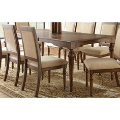 Robyn Dining Set with Distressing and Optional Server | Overstock™ Shopping - Big Discounts on Dining Sets