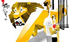 lion by Victor Melamed