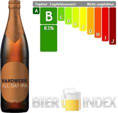 Bier des Monats Juni 2014 auf dem Bier-Index: das Handwerk All-Day IPA von Brewers  Union. Warum das so ist, erfahrt ihr in unserem Artikel zum Bier des Monats: http://www.bier-index.de/bier-des-monats-archiv/2014/06/