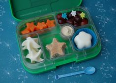 Eats Amazing - Star themed Yumbox lunch & #FunFoodFriday #21