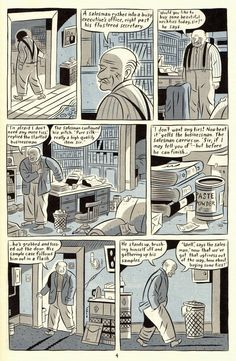 The Crib Sheet: Pamphlets and Graphic Novels: Seth's Clyde Fans (A Case Study) - Coda Design Comics, Rule Of Thirds, Old Comics, Comic Page, Graphic Art, Graphic Novels, Case Study, Paper Art, Cartoon