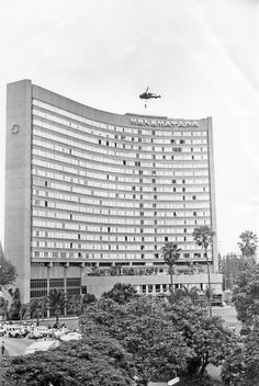 Monomatapa Hotel, Salisbury, Rhodesia.  I had my wedding reception in this hotel!