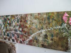 Telas Abstratas e Mandalas para decorações de ambientes. Decore com arte!: elas abstratas  -  quadros abstratos ref: 1030