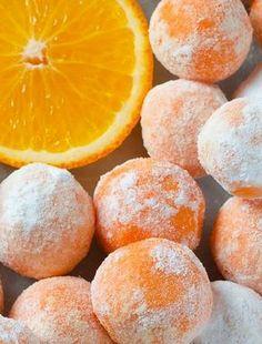 White Chocolate & Orange Creamsicle Truffles