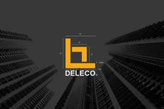 """Check out this @Behance project: """"DELECO - visual identity"""" https://www.behance.net/gallery/47850813/DELECO-visual-identity"""