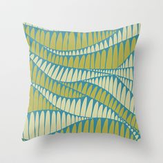 Sahara Desert in pastel colours Throw Pillow by nandita singh - $20.00