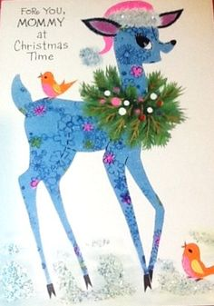 1960's Christmas Card