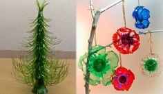Cómo hacer adornos de Navidad con botellas - Contenido seleccionado con la ayuda de http://r4s.to/r4s