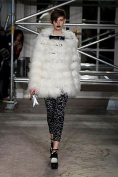 Moschino Cheap and Chic Fall/Winter 2013-2014 fashion show   #moschino #cheapandchic