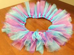 Purple and Blue Tutu by @PrissiePants on Etsy