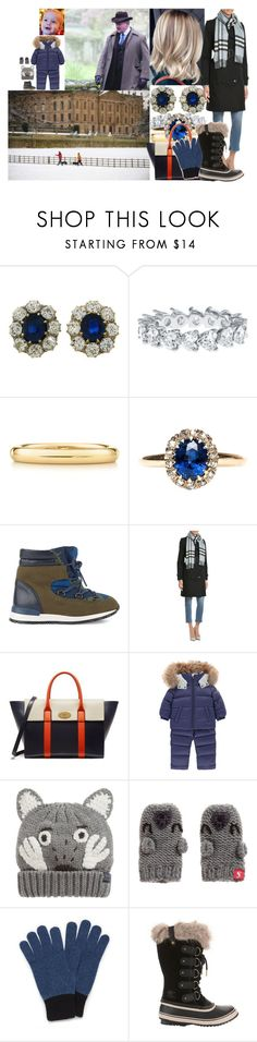 """Arriving at Chatsworth for the weekend and joining her father to take the dogs for a walk"" by lady-maud ❤ liked on Polyvore featuring Elsa Peretti, STELLA McCARTNEY, Burberry, Mulberry, Moncler, Joules and SOREL"