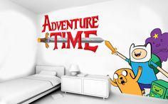 decoracionen vinil de adventure time 1