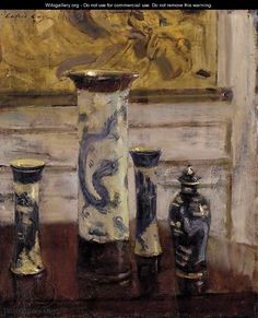 The Vases - Walter Gay - WikiGallery.org, the largest gallery in the world