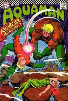 Aquaman Series) 34 Cover art by Nick Cardy Dc Comics Superheroes, Fun Comics, Marvel Comics, Aquaman Comics, Comic Book Artists, Comic Artist, Comic Books Art, Cartoon Books, Classic Comics
