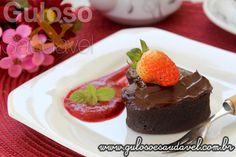 Bolinhos de chocolate sem Glúten e sem lactose