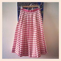 Vintage Stripes Skirt