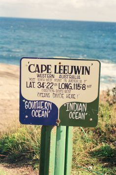 Cape Leeuwin, W.A Where the Indian Ocean meets the Southern Ocean