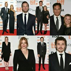 @armiehammer (with wife #ElizabethChambers), #MichaelShannon (with wife #KateArrington), @brycedhoward and @karlglusman were also present on the red carpet at the premiere of #NocturnalAnimals held during the #TIFF on Sunday (11). (📸 Getty)