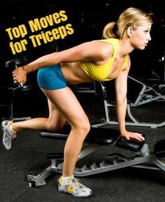 Goodbye Batwings! 5 Moves for Toned Triceps Ready to go sleeveless? Firm up your arms fast with this targeted sculpting plan