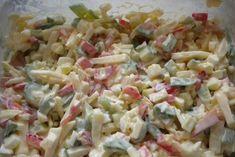 Sýrový salát Ketogenic Recipes, Diet Recipes, Vegan Recipes, Cooking Recipes, New Menu, Top Recipes, Keto Dinner, Bon Appetit, Pasta Salad