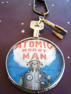 Robot Necklace $32