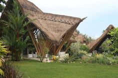 Resorts In Philippines, Bamboo Architecture, Bamboo Art, Rustic Design, Glamping, Villas, Gazebo, Landscaping, Outdoor Structures