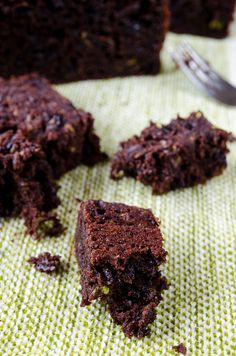 This Chocolate and Yogurt Zucchini Bread is so moist and rich that you will feel like you are eating brownies, yet a healthier version. A little olive oil, plain yogurt and lots of zucchini are the secret behind the moistness!