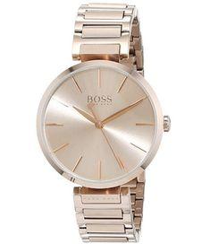 Reloj de mujer Hugo BOSS clásico al mejor precio. Descuento del 19% #relojesmujer Hugo Boss, Michael Kors Watch, Best Watches, Brand Name Watches, Woman, Hugo Boss Men, Watches Michael Kors