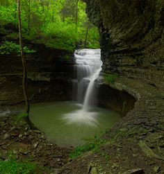 Ladder Bucket Falls - Arkansas - Photo by Tim Ernst
