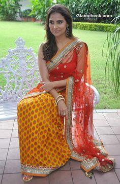 Lara Dutta Bhupathi Debuts Her Bridal Collection with Chhabra 555