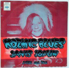 7  JANIS JOPLIN Kozmic Blues / Little Girl Blue DUTCH HOLLAND 1st Press 1969 PS