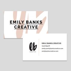 I didn't need a whole lot of collateral for this project, but a business card and some social media headers were a must. Using the pattern created from enlarging my alternate logo, I created my business card...