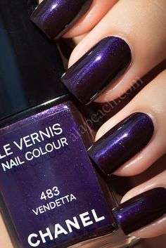 "Chanel ""Vendetta"" Le Vernis Nail Colour"