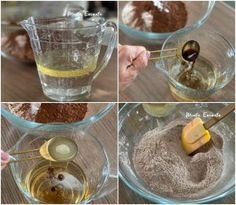 temperatura Sweet Recipes, Vegan Recipes, Brownie Recipes, Easy Cooking, Punch Bowls, Good Food, Low Carb, Pudding, Food And Drink