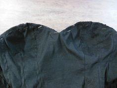 Aplicação do bojo no corset: como fazer?