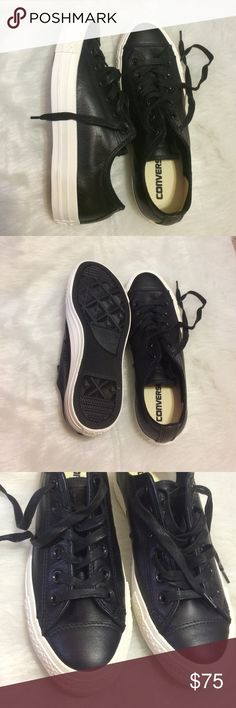 Converse ID rare women's size 8.5 leather shoes New without box Converse Shoes Athletic Shoes